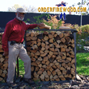 Click Here to find out more information on purchasing a half cord of seasoned firewood.